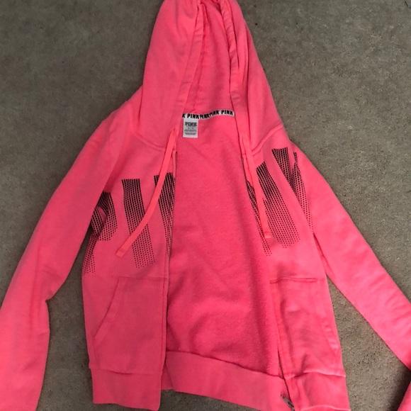 7e74ed9944ed Victoria s Secret PINK pink jacket size medium. M 5a89d41ba6e3ea505ea3c7f7